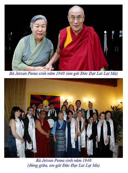 Dalai Lama and Pema