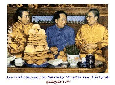 Dalai Lama and mao trach dong 2