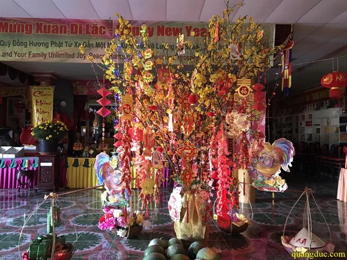 Tu Vien Quang Duc _Chuan Bi Don Xuan Dinh Dau 2017 (22)