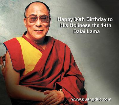 Happy Birthday His Holiness Dalai Lama 2