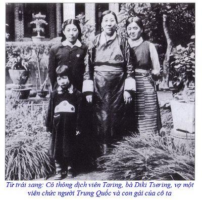 Diki Tsering and taring