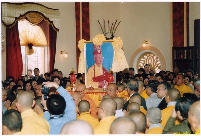 Duc De tu Tang Thong Thich Huyen Quang