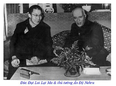 Dalai Lama and Nehru