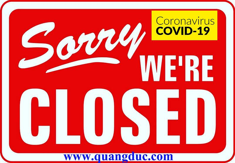 sorry- we are closed-2