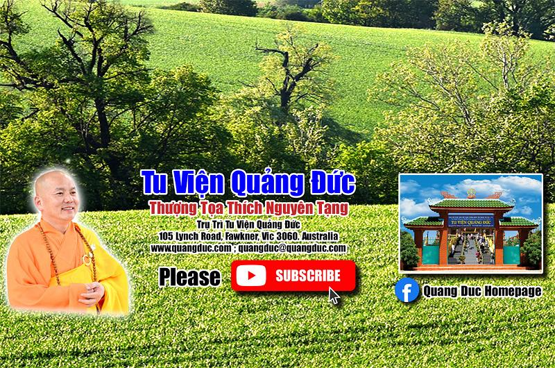 Tu Vien Quang Duc_Youtube channel