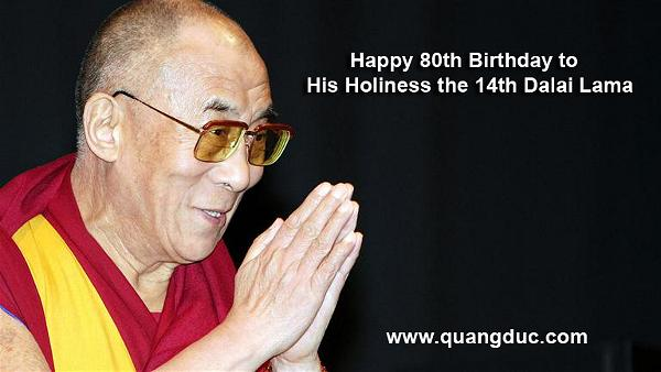 Happy Birthday His Holiness Dalai Lama 3