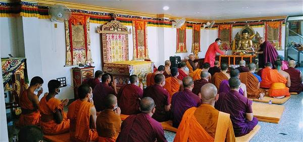 Lễ cúng dường Trai Tăng trên xứ Phật-07