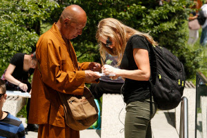 Fake Buddhists Monks in New York 2