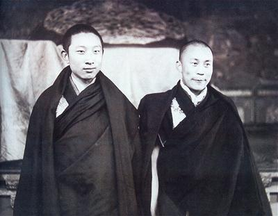 His Holiness the Panchen Lama and Dalai Lama 2