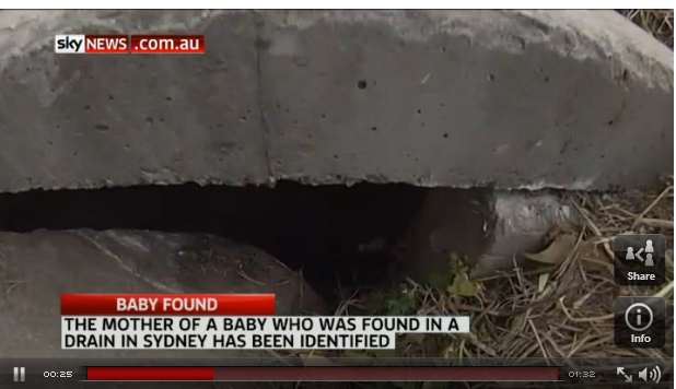 newborn baby boy was found down a drain at Quakers Hill2