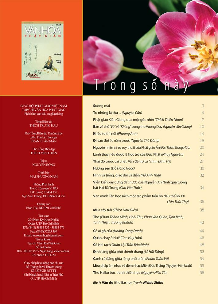 Văn Hóa Phật Giáo, số 276, ngày 01_07_2017-3