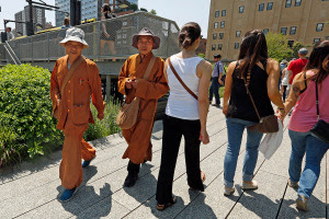 Fake Buddhists Monks in New York 4