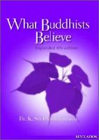 whatbuddhistbeleive