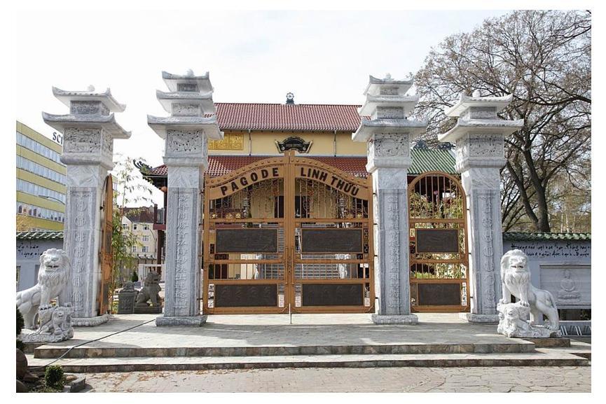 Kết quả hình ảnh cho chùa linh thứu