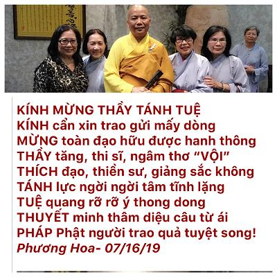 thich tanh tue
