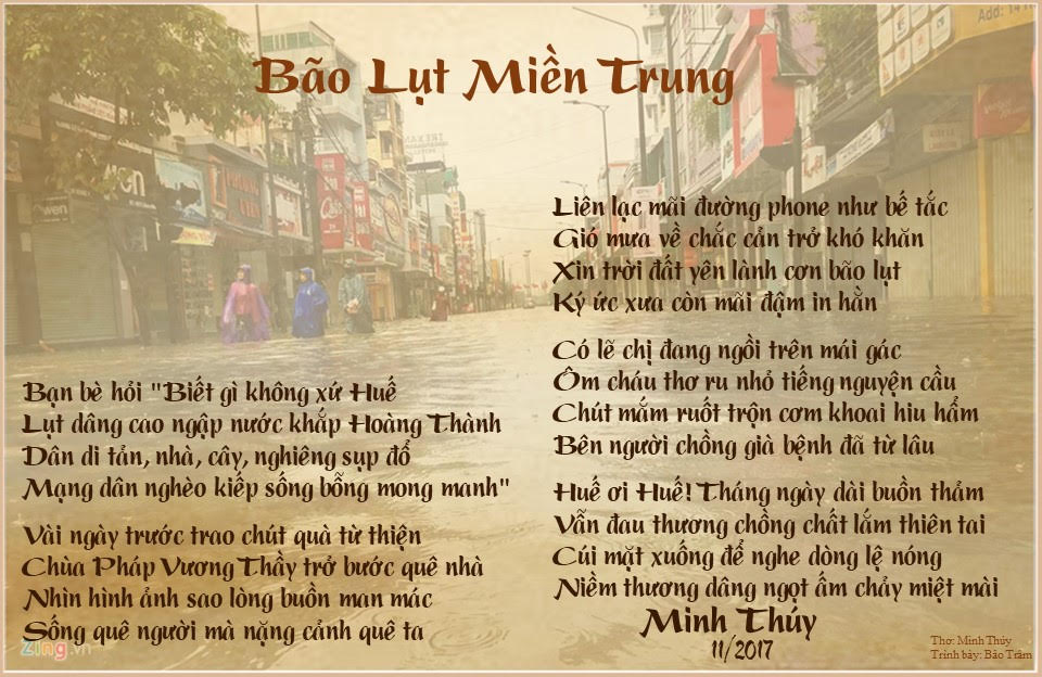 Minh thuy bao lut mien trung