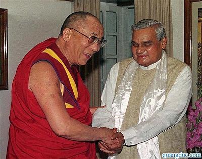 Atal Bihari Vajpayee and Dalai Lama