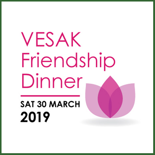 Vesak Friendship-dinner 2019